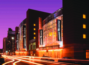 Aronoff Center at Night